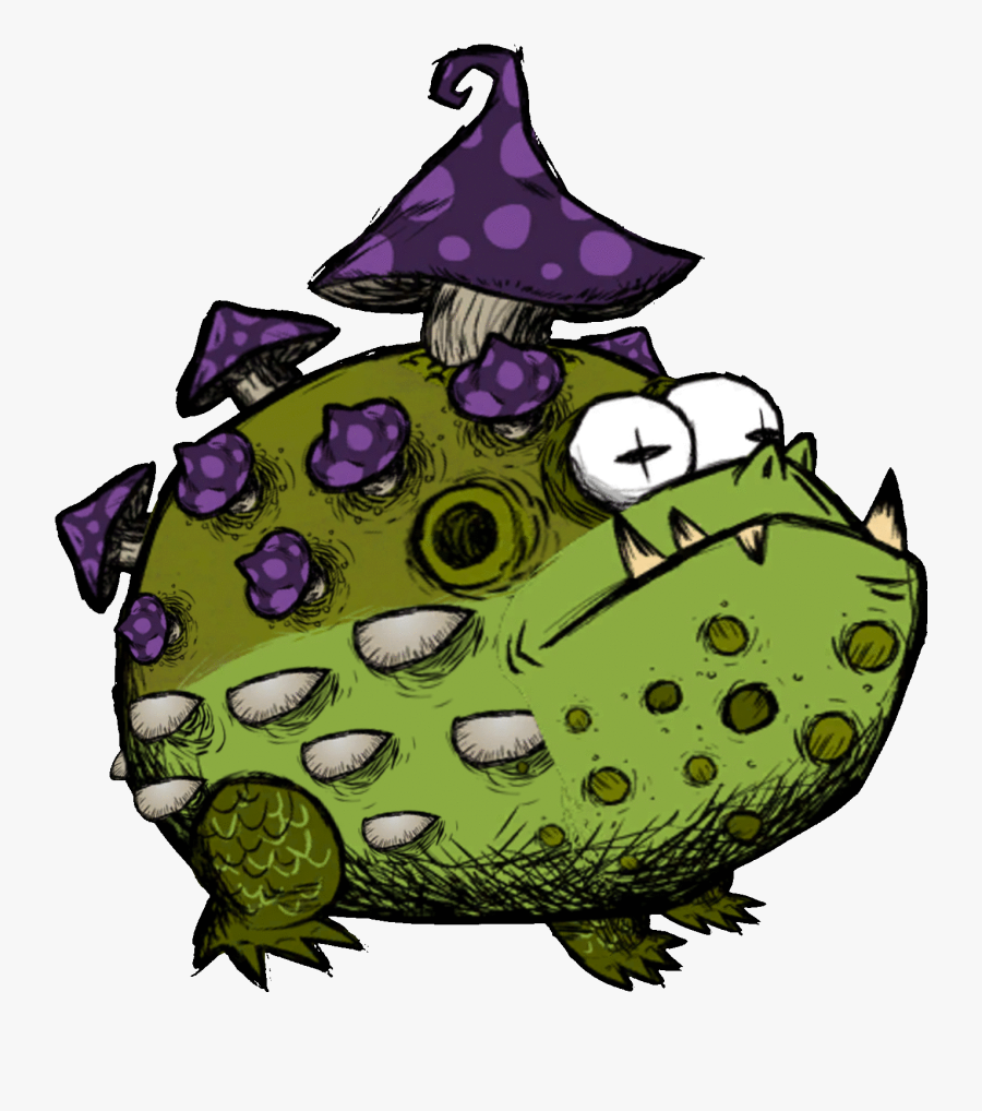 New Reign Update Log Page Don Starve Together Toadstool, Transparent Clipart
