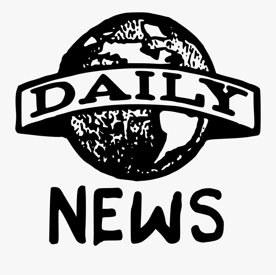 News Clipart News Update - Newspaper Daily News Logo, Transparent Clipart