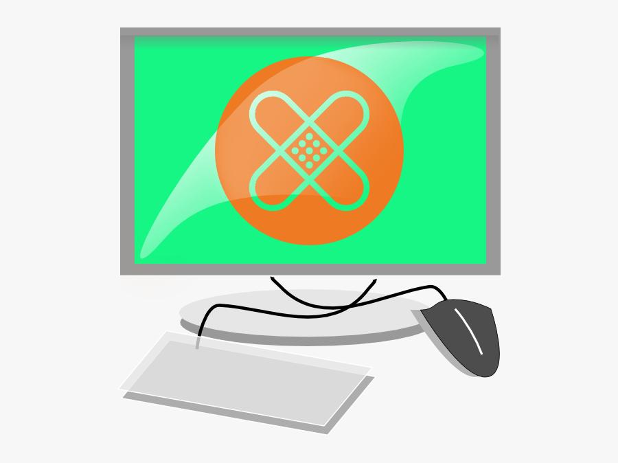 Transparent Update Clipart - Computer Terminal Clipart, Transparent Clipart