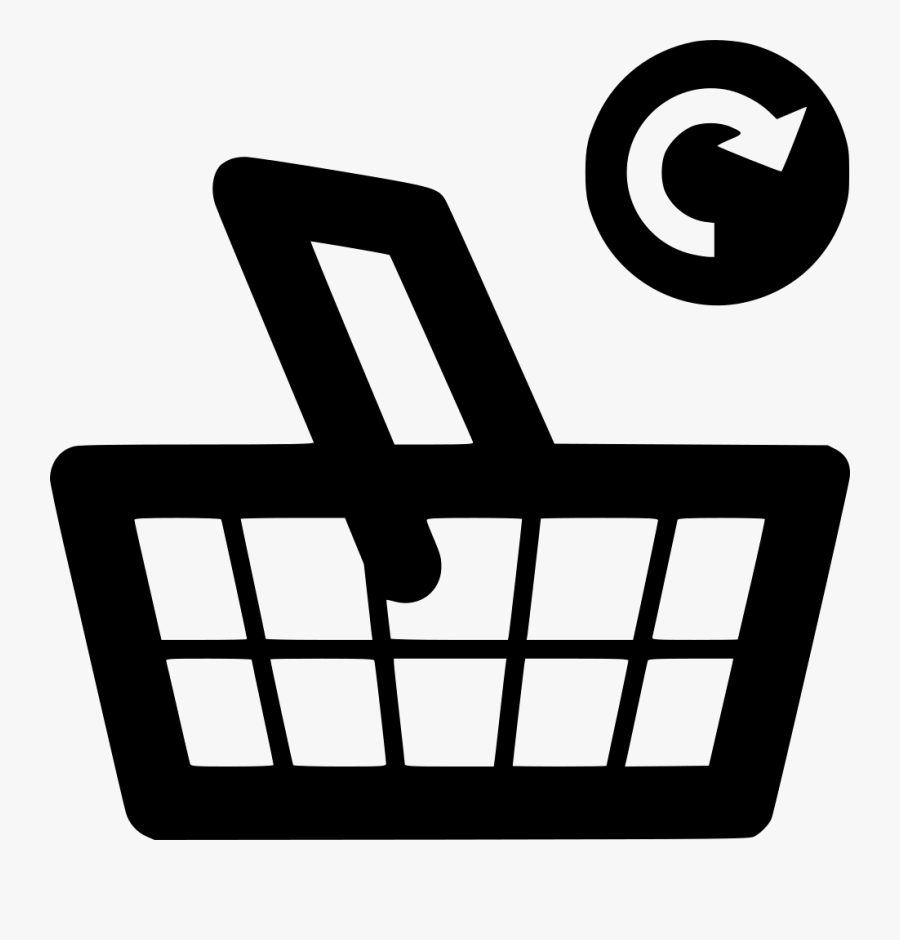 Supermarket Basket Grocery Update Svg Png Icon Free - Shopping Okay Icon Png, Transparent Clipart