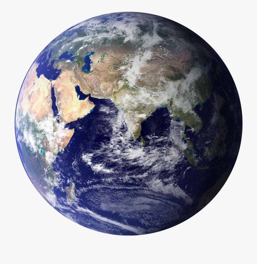 Planet Globe Png Image - Transparent Background Earth Png, Transparent Clipart