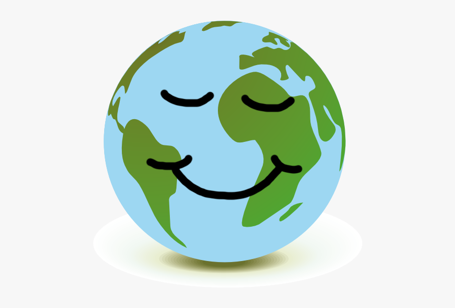 Creation Clipart Mother Earth - Happy Planet Earth Png, Transparent Clipart