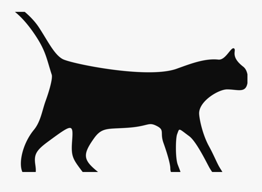 Caramel The Cat Had Been Lost For Two Days When The - Black Cat, Transparent Clipart