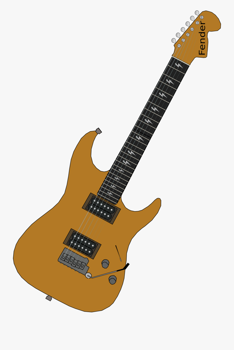 Acoustic Electric Guitar,string Instrument,guitar Accessory - Clipart Of Electric Guitar, Transparent Clipart