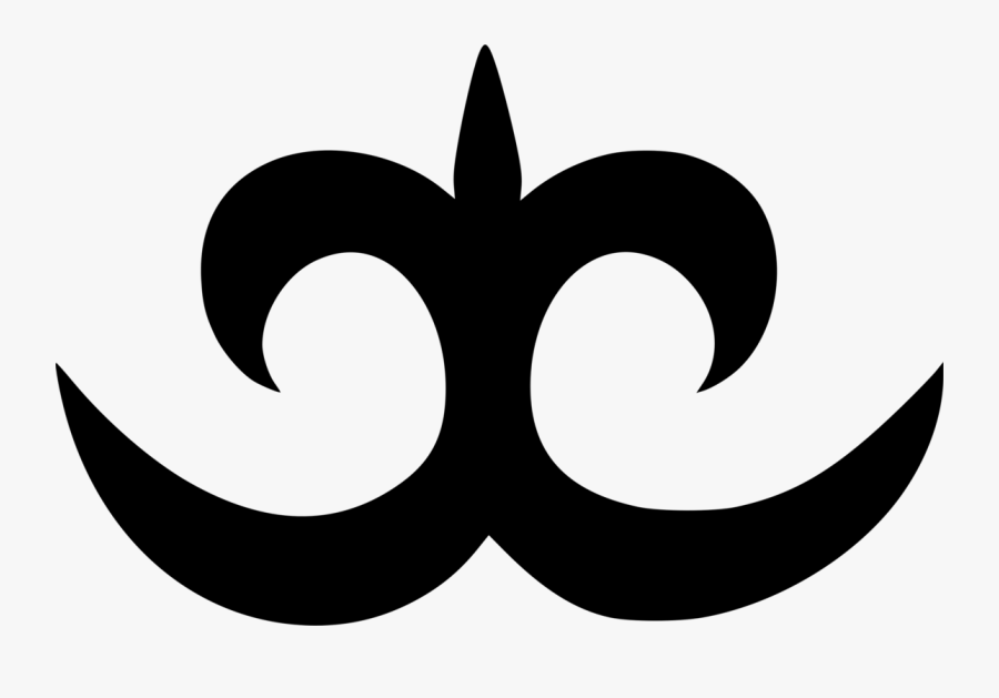 Silhouette,monochrome Photography,symbol - Adinkra Symbols Pdf Download, Transparent Clipart