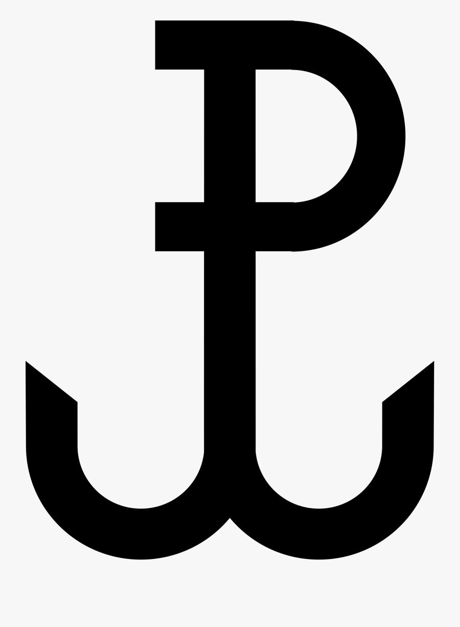 Polish Symbols Clipart Best Kotwica Wikipedia The Free - Polish War Symbol, Transparent Clipart