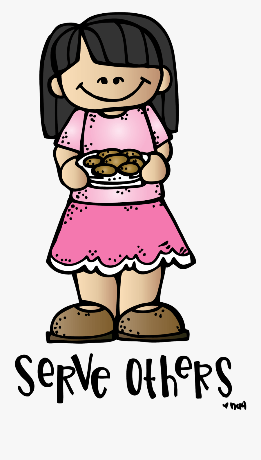 Showing Love To Others Clipart - Serve Others Clipart, Transparent Clipart