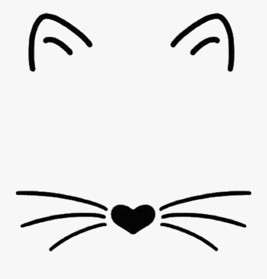 Transparent Black And White Tumblr Stickers, Transparent Clipart