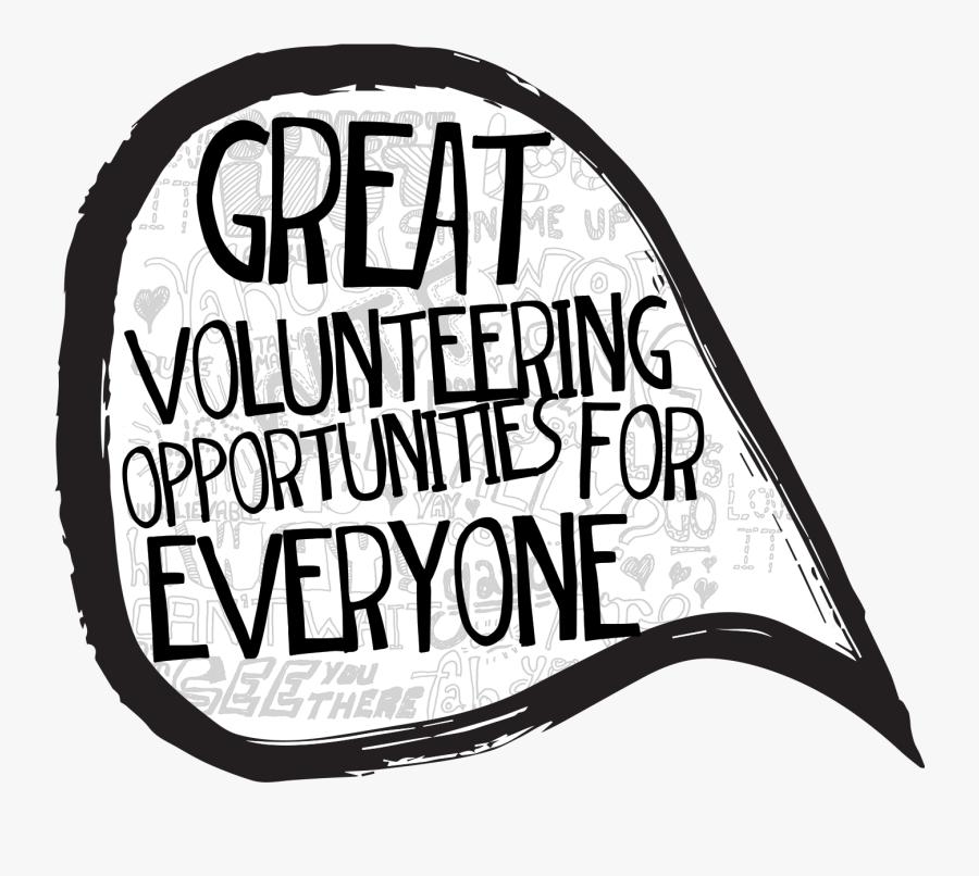 Volunteer Wordfest Join Our - Illustration, Transparent Clipart