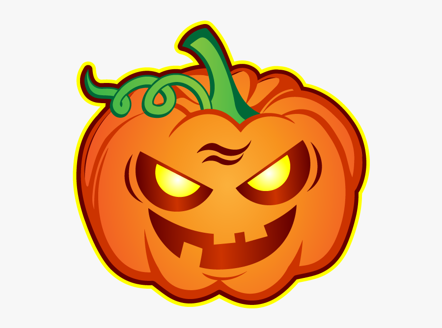 Halloween Hipster Stickers Messages Sticker-11 - Jack-o'-lantern, Transparent Clipart