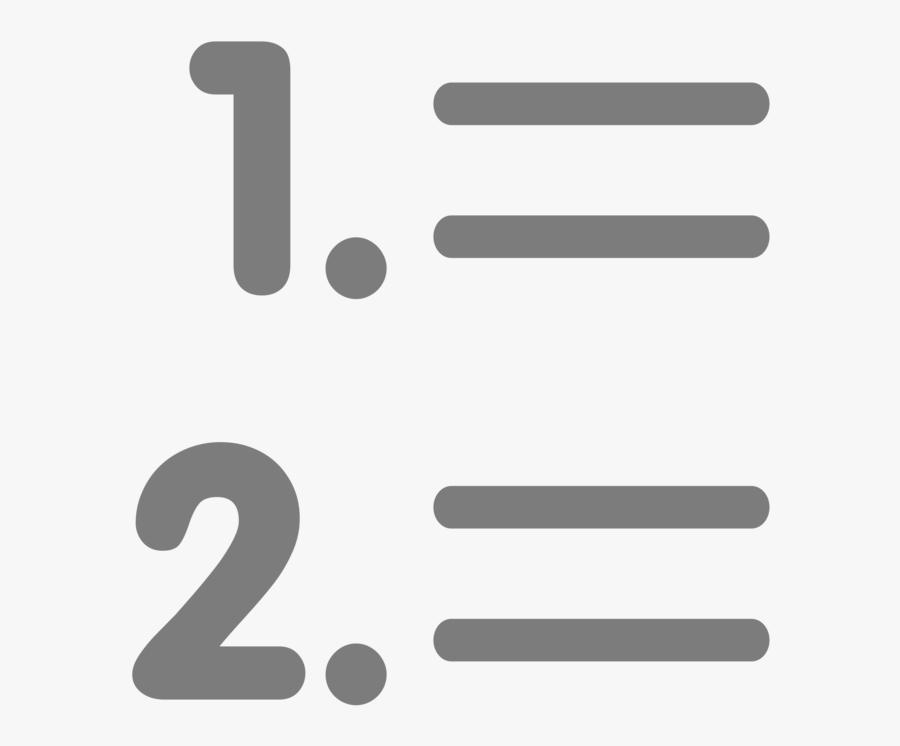 Computer Icons Number Brand Bullet Angle - Orden De Los Argumentos, Transparent Clipart