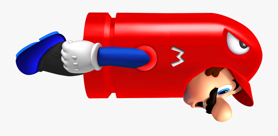 Bullet Mario - Mario Bullet Bill Power Up, Transparent Clipart