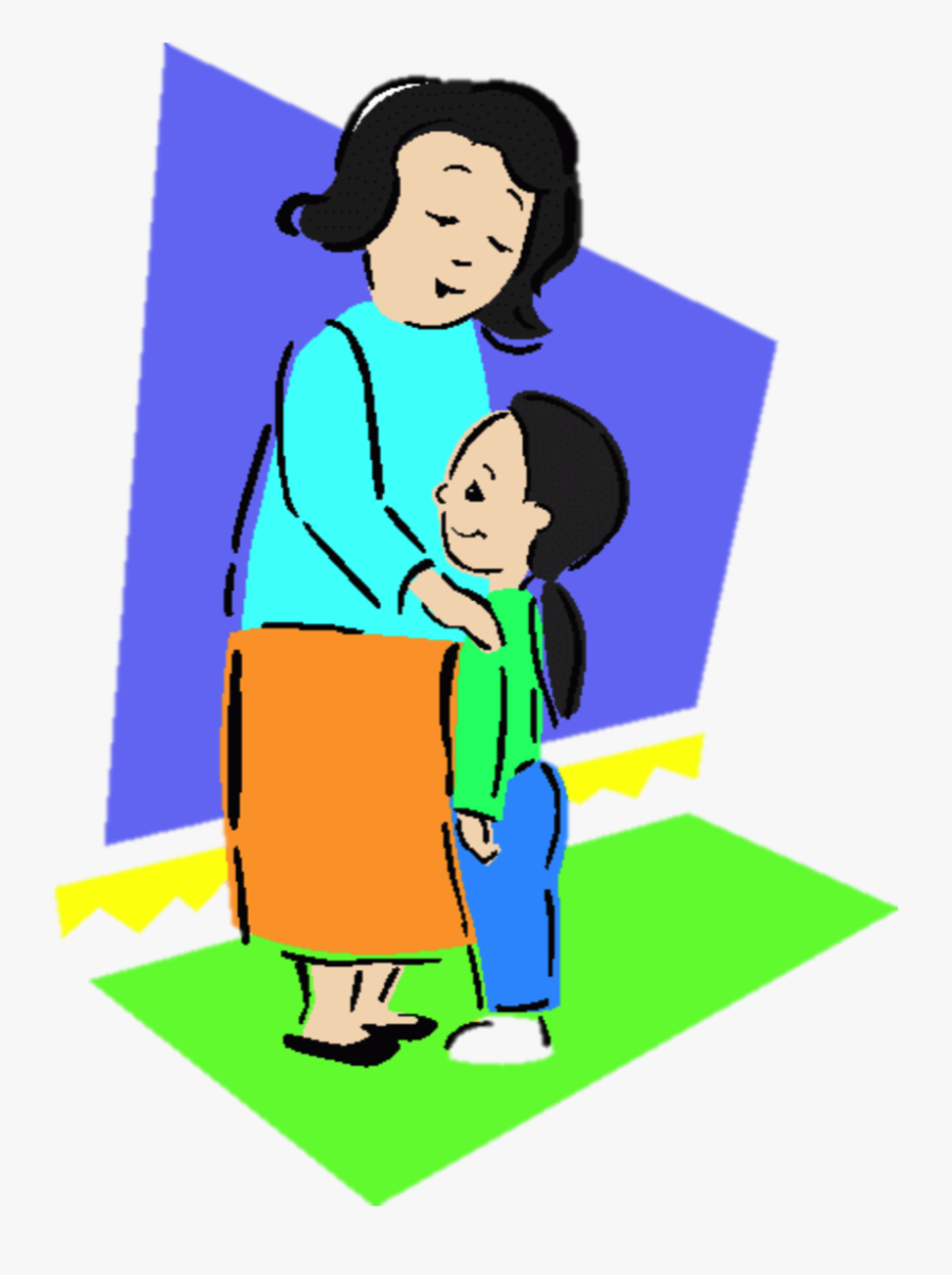 Png Royalty Free Library Rainbow Bubbles By Aisha Hassan - Mom And Daughter Cartoon Gif, Transparent Clipart