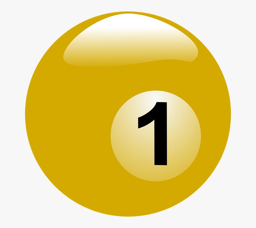 Billiard Ball Png - Bolas De Billar 1 Png, Transparent Clipart