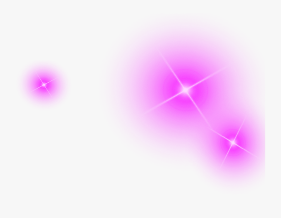 Shine Purple Light Effect Element Simple Violet Clipart - Purple Light Effect Png, Transparent Clipart