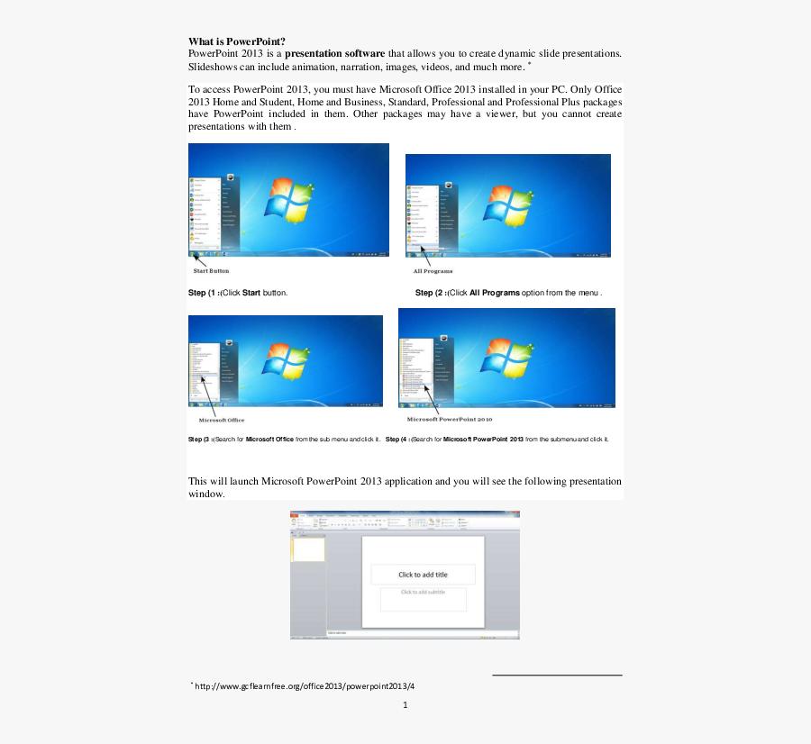 Windows 7, Transparent Clipart