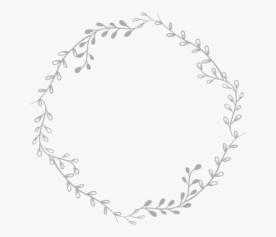 Tumblr Border Circle Transparent White Pictures Png - Aesthetic Circle Border Transparent, Transparent Clipart