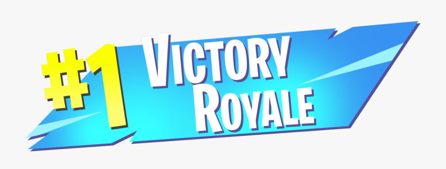 1 Victory Royale Png Logo Transparent High Resolution - Victory Royale Transparent, Transparent Clipart