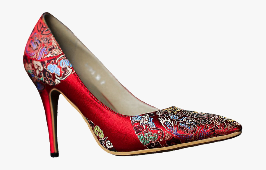 Red Women Shoes Png Image Background - Women Shoes Png, Transparent Clipart