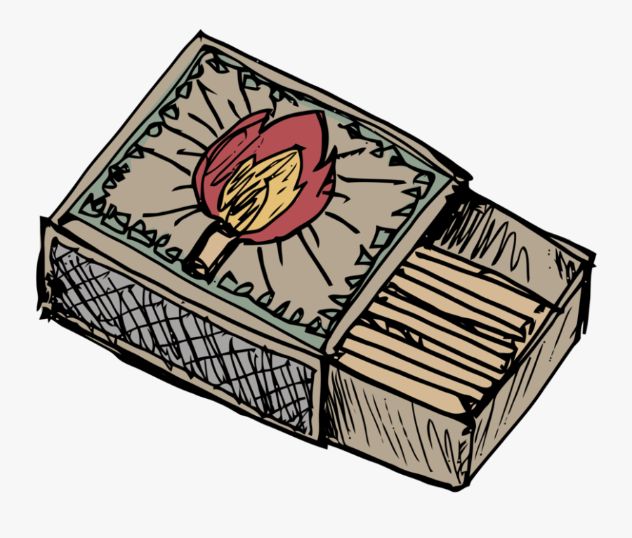 Box,rectangle,computer Icons - Cartoon Drawing Of A Match, Transparent Clipart