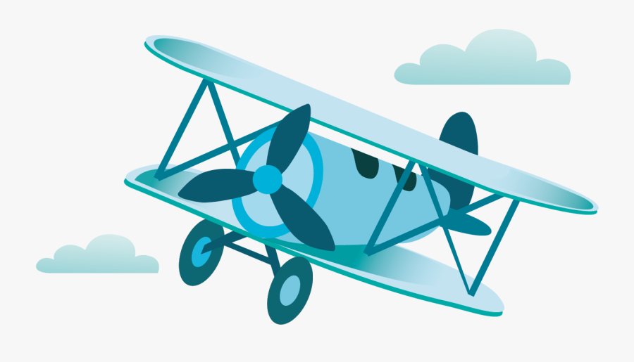 Biplane Transparent Background Airplane Cartoon Png Free