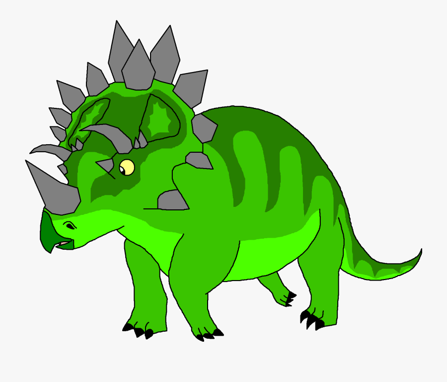 Collection Of Free Triceratops Drawing Reptilia Download - Anchiceratops Cartoon Png, Transparent Clipart