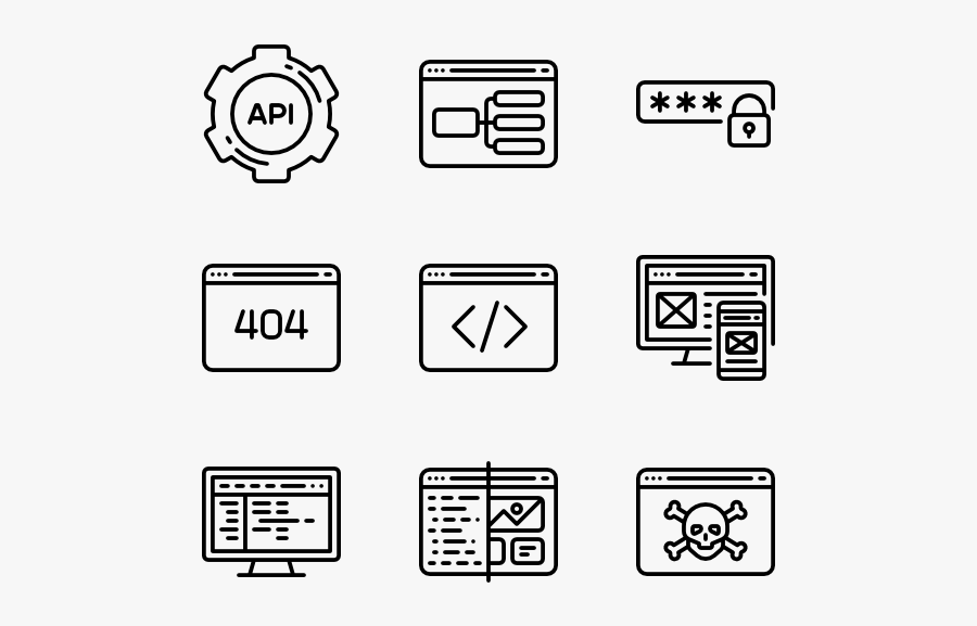 Program Vector Png - Programming Icons, Transparent Clipart