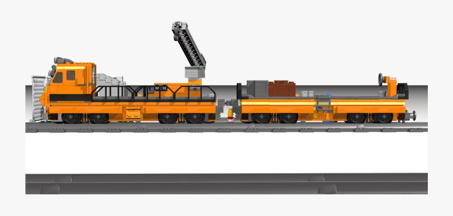 Railroad Track Maintenance Lego , Png Download - Maintenance Train Png, Transparent Clipart