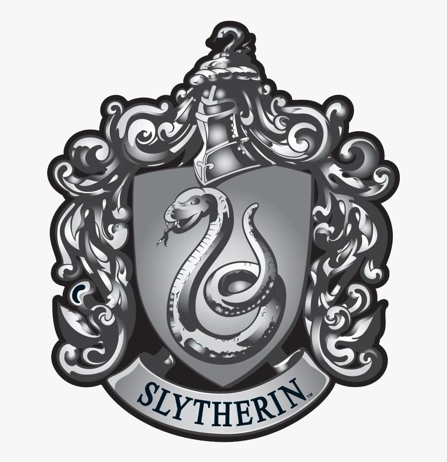 Slytherin Crest On Black
