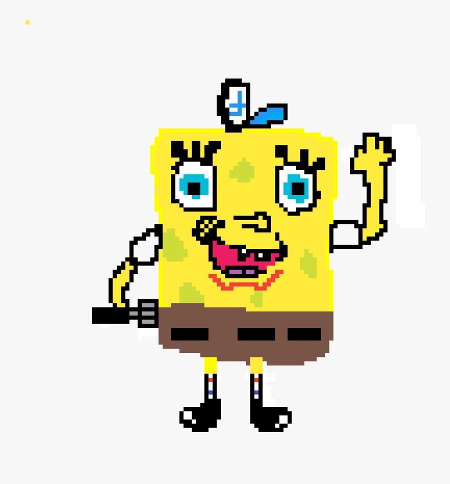 Clip Art Freeuse Download Pixilart Bad Of Spongebob - Spongebob Squarepants Bad Drawing, Transparent Clipart