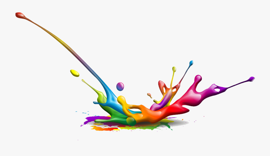 #colorful #rainbow #flowers ##buildings #donaldtrump - Splash Of Colour No Background, Transparent Clipart