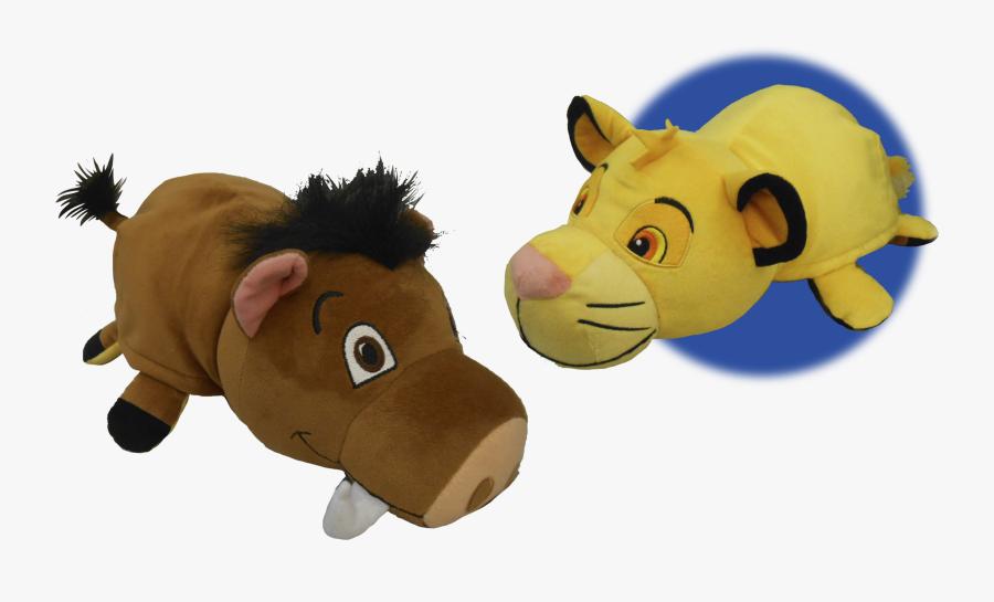 Clipart Reading Stuffed Animal - Flipazoo Simba, Transparent Clipart