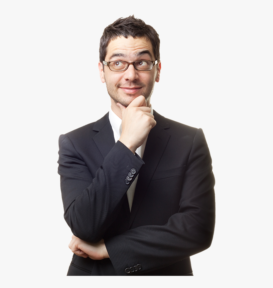 Man Think Png - Thinking Man Transparent Background, Transparent Clipart
