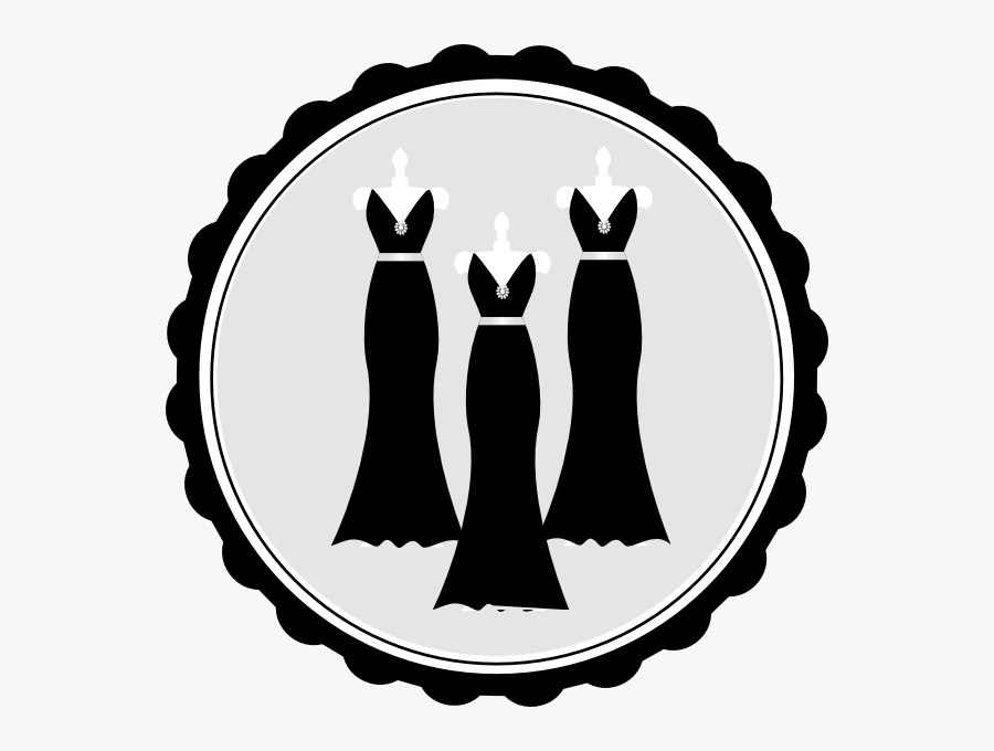 Bridesmaid Silhouette Clip Art - Hotel Check In Png, Transparent Clipart