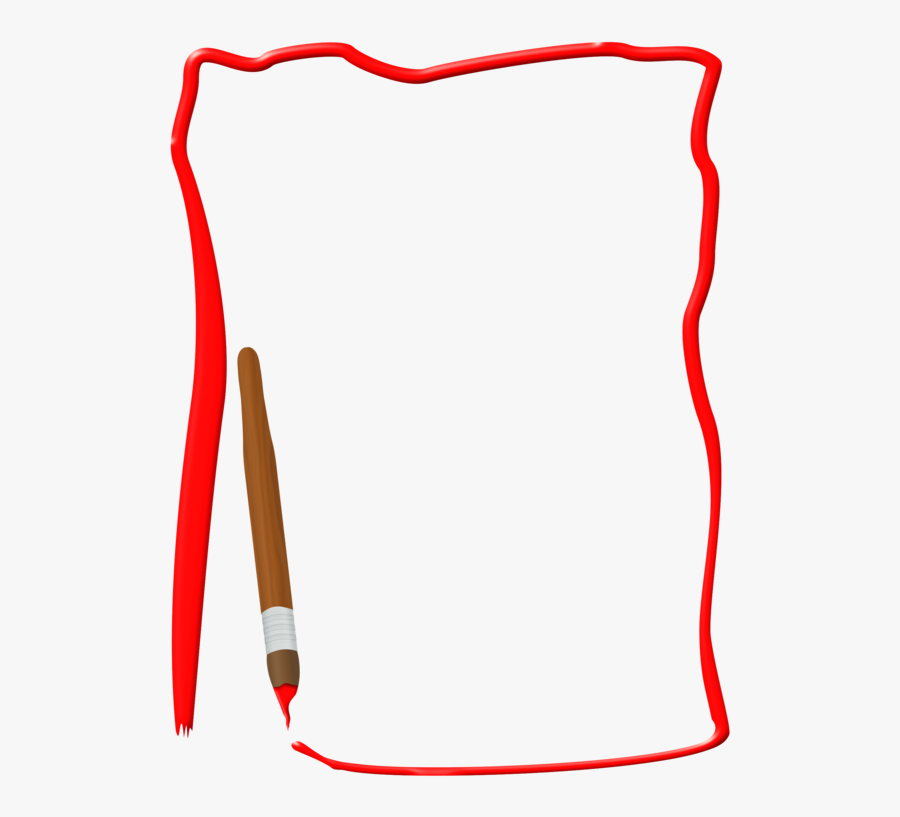 Area,line,borders And Frames - Simple Page Border Hd, Transparent Clipart
