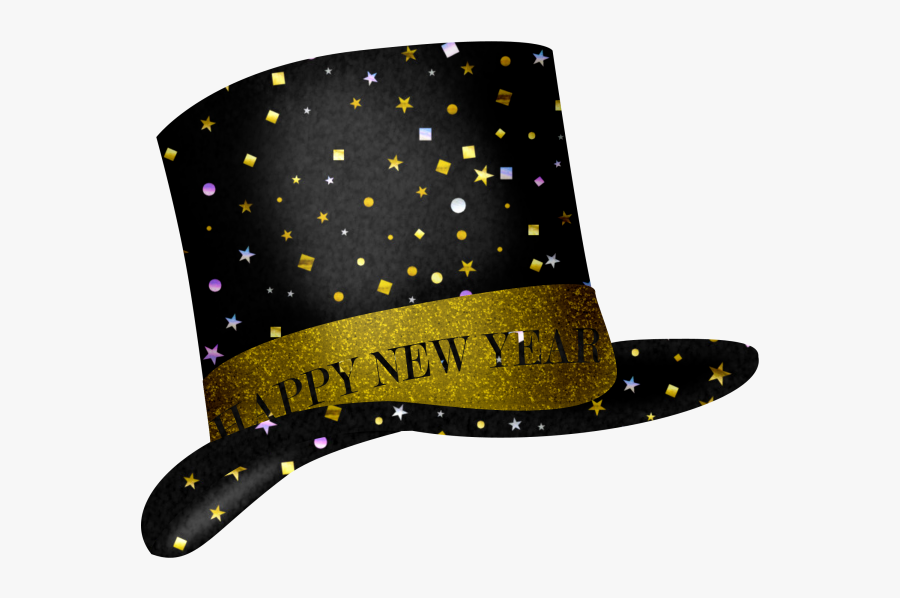 New Year Hat Clipart, Transparent Clipart