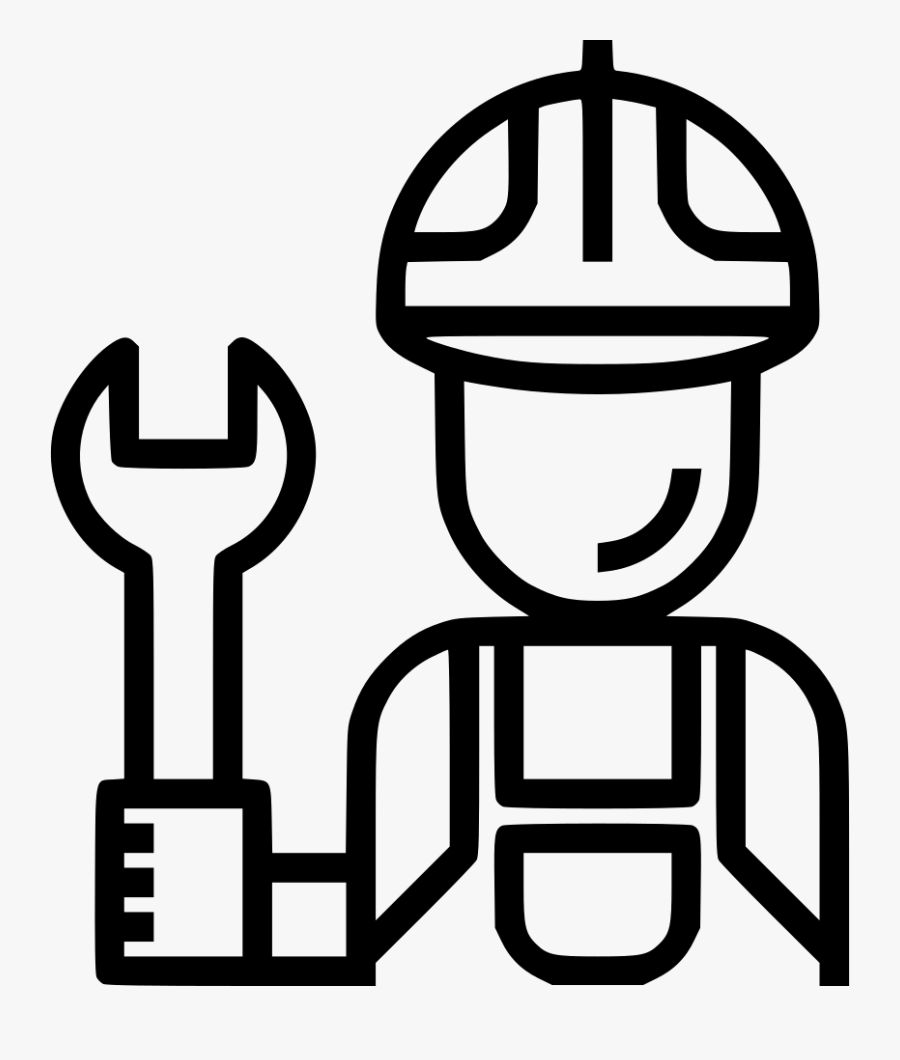 Techincian Customer Service Man Avatar Engineer Svg - Engineer Icon Png, Transparent Clipart