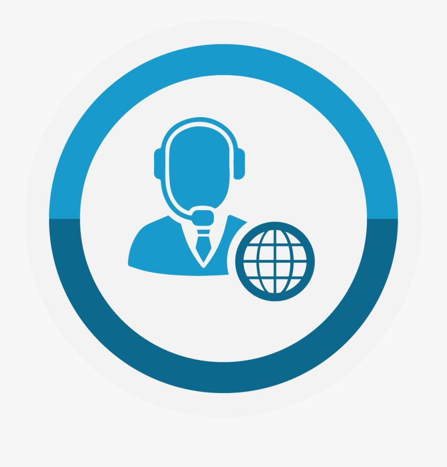 Transparent Help Desk Clipart - Customer Service Portal Icon, Transparent Clipart
