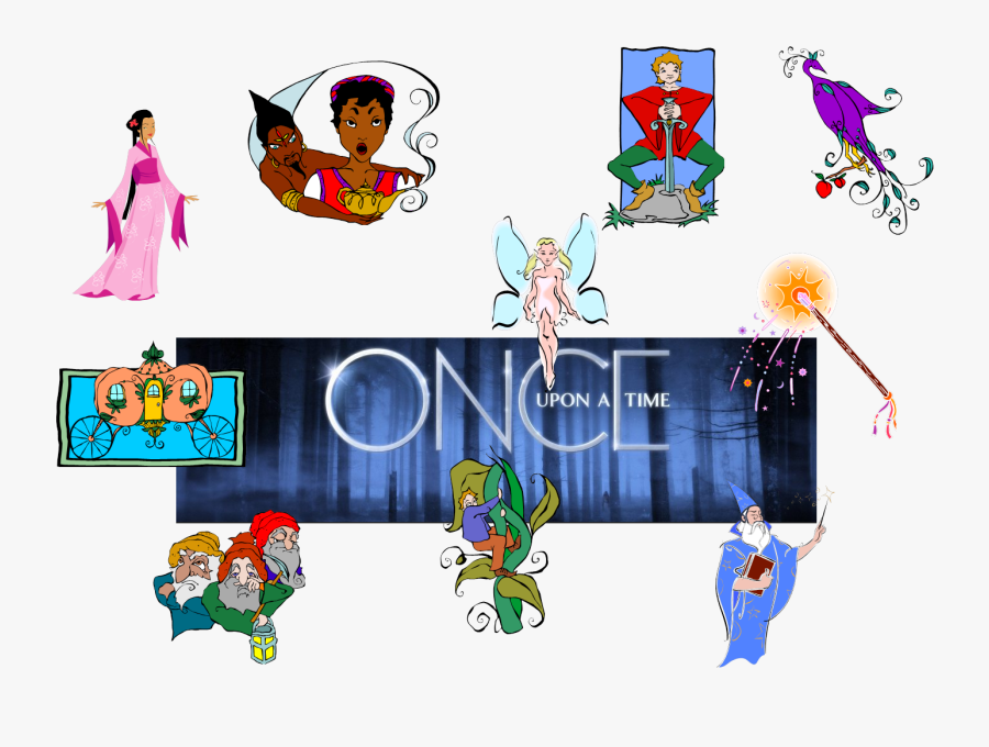 Story Clipart Once Upon Time Book - Cartoon, Transparent Clipart