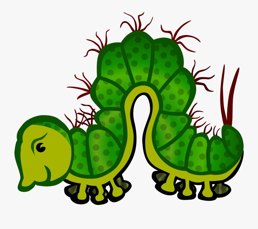 This Free Icons Png Design Of Caterpillar - Caterpillar Clipart Clipart Ulat Bulu, Transparent Clipart