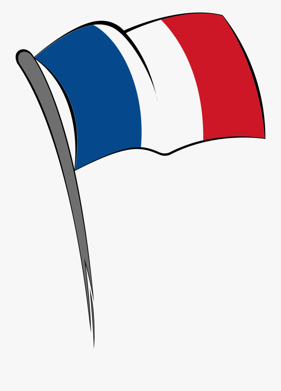 Flag Of France Flag Of Italy - Flag France Clip Art, Transparent Clipart