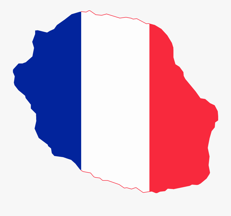 France Flag Png 16, Buy Clip Art - Clipperton Island Flag Map, Transparent Clipart