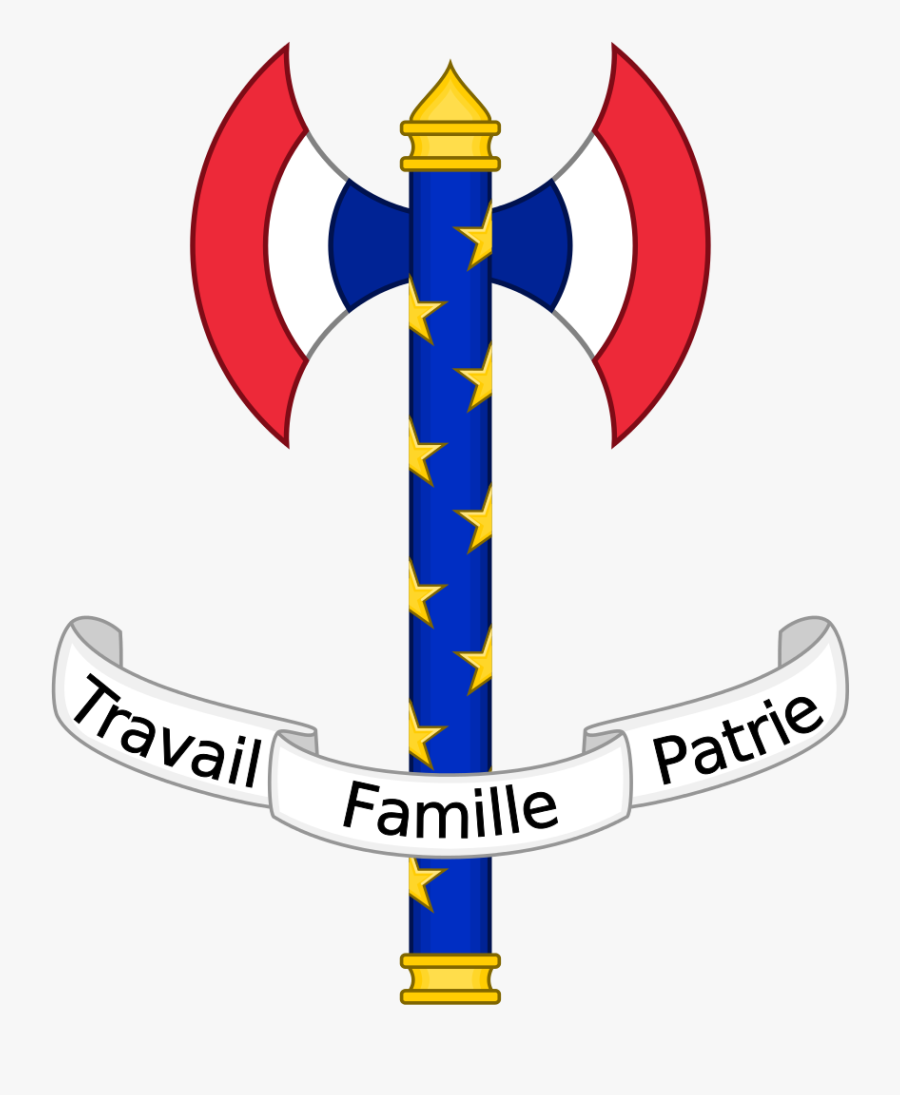Coat Of Arms Of Vichy France Vichy, French Revolution, - Hoi4 Vichy France Flag, Transparent Clipart