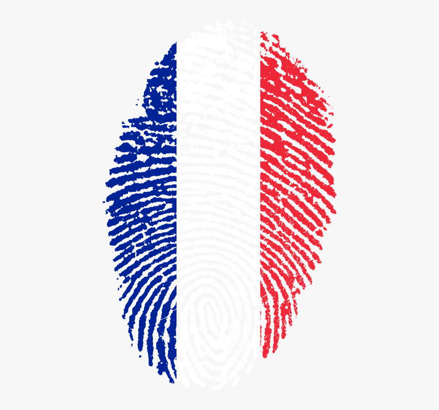 Free Png Download France Flag Fingerprint Png Images - France Flag Fingerprint, Transparent Clipart