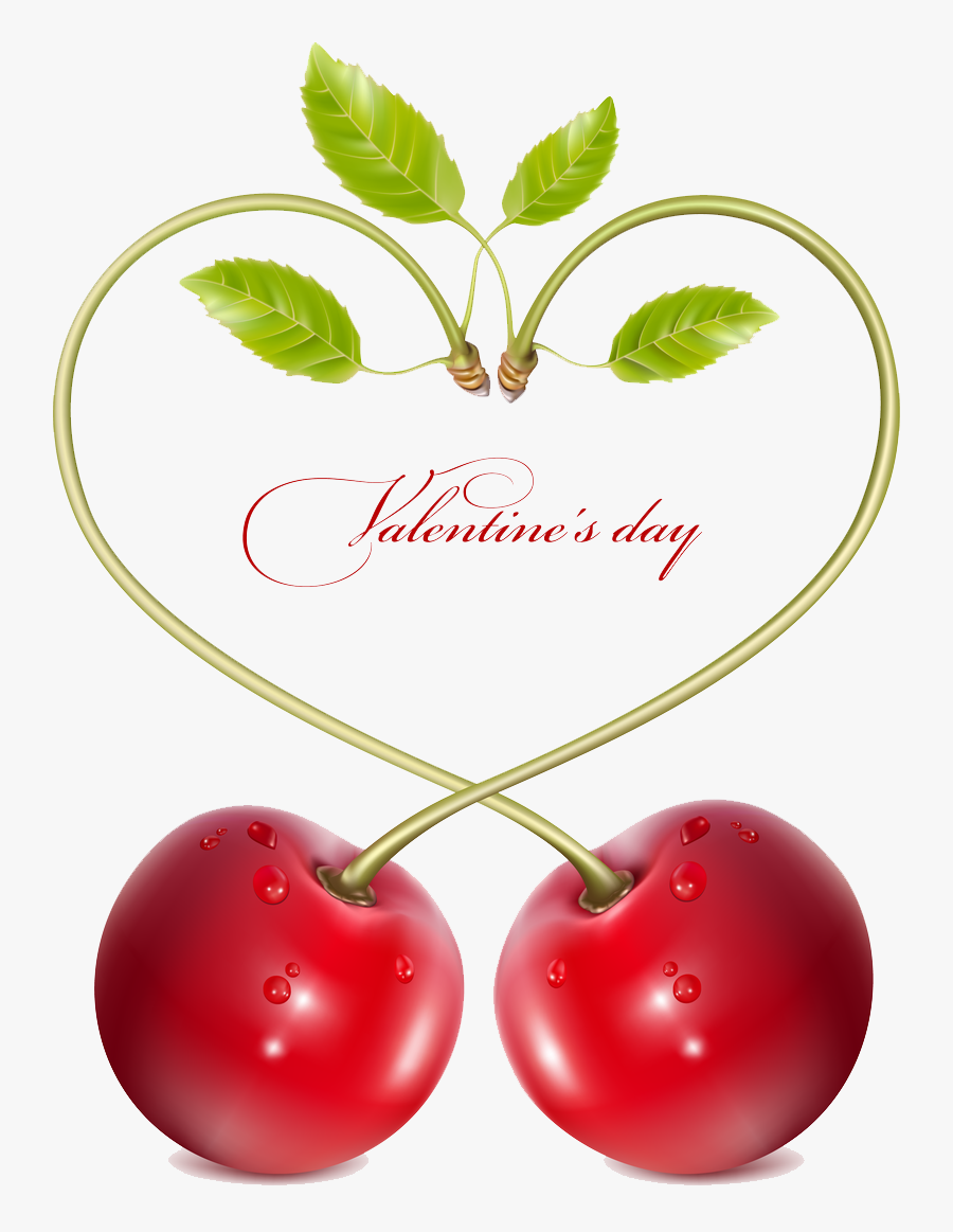 Transparent Frosting Clipart - Cherry Vector Free Download, Transparent Clipart