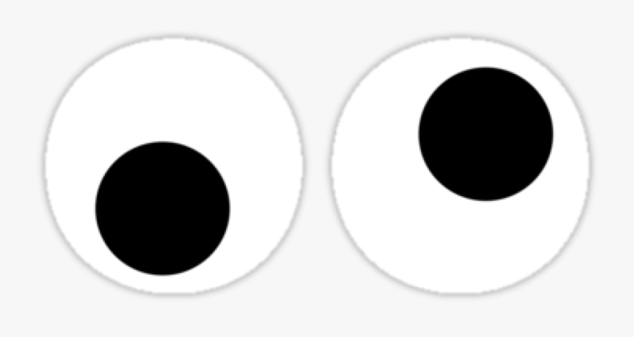 Googly Eyes Clear Background, Transparent Clipart