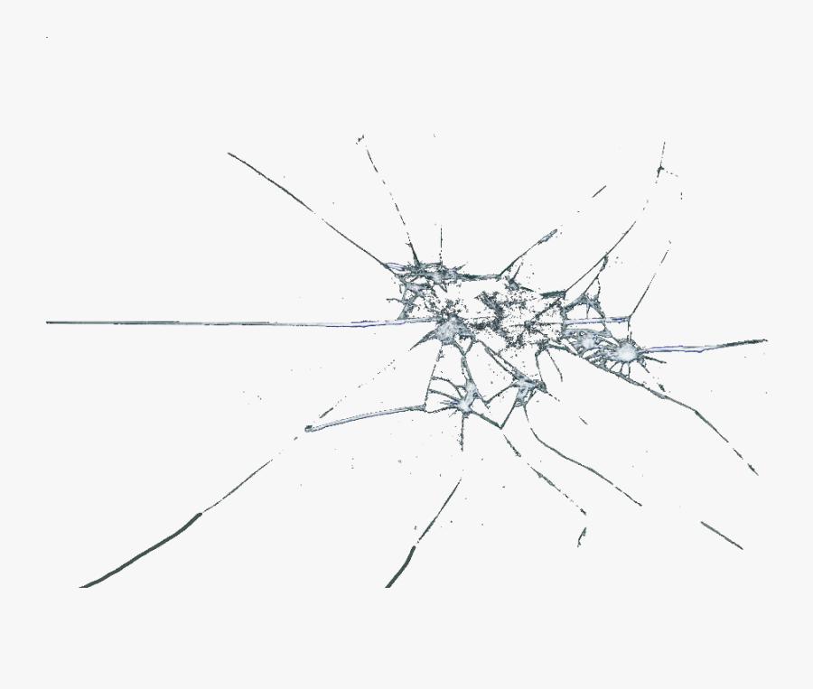 #broken #shattered #glass #brokenglass #effects - Broken Glass On Transparent, Transparent Clipart