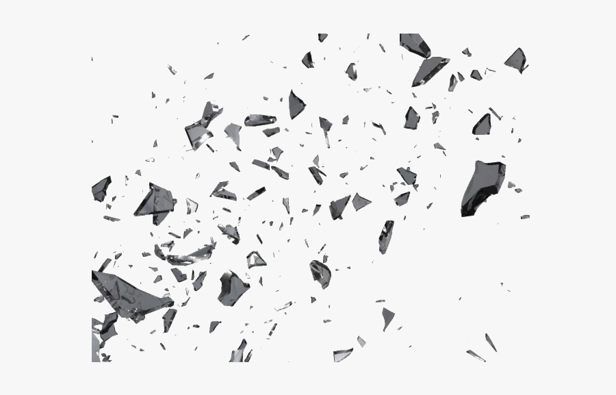 Shattered Glass Effect Png, Transparent Clipart