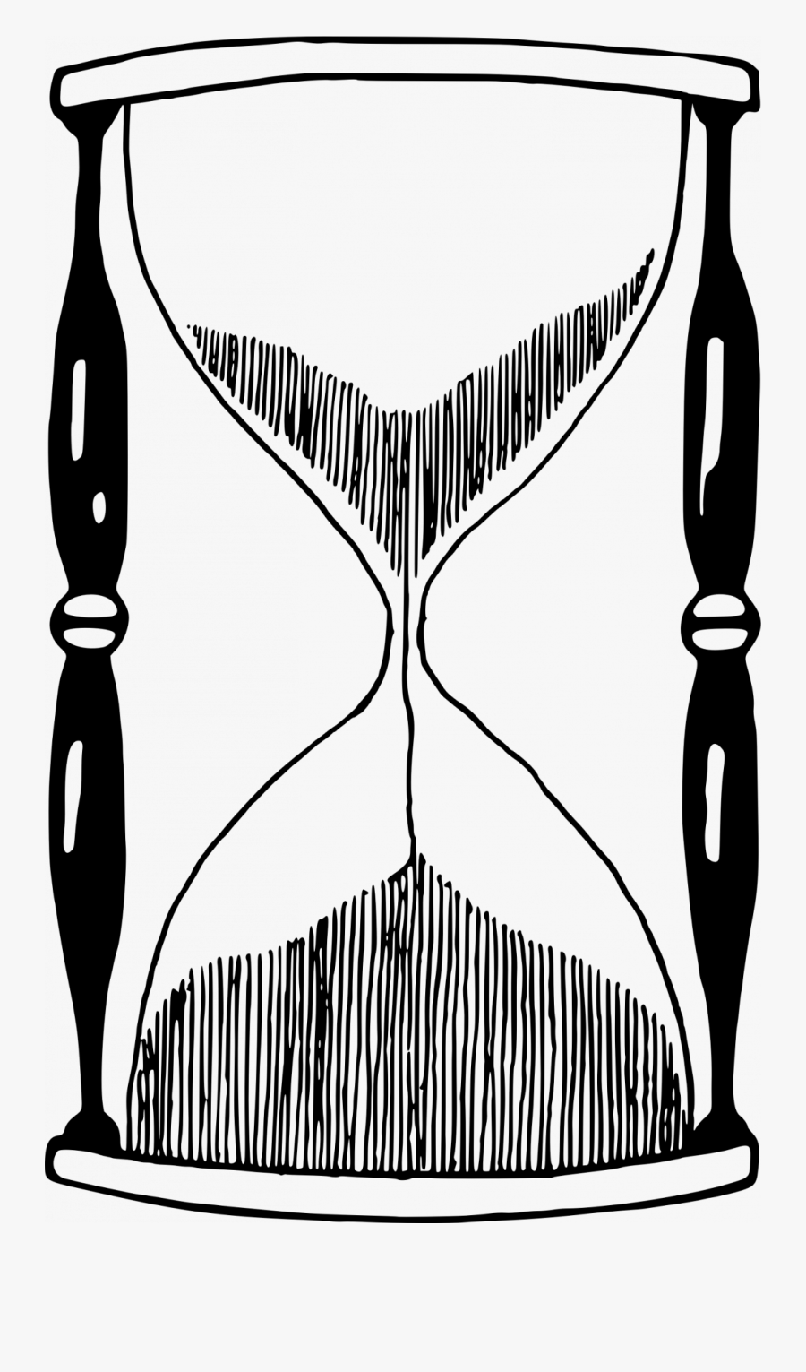 Hourglass Drawing Png, Transparent Clipart
