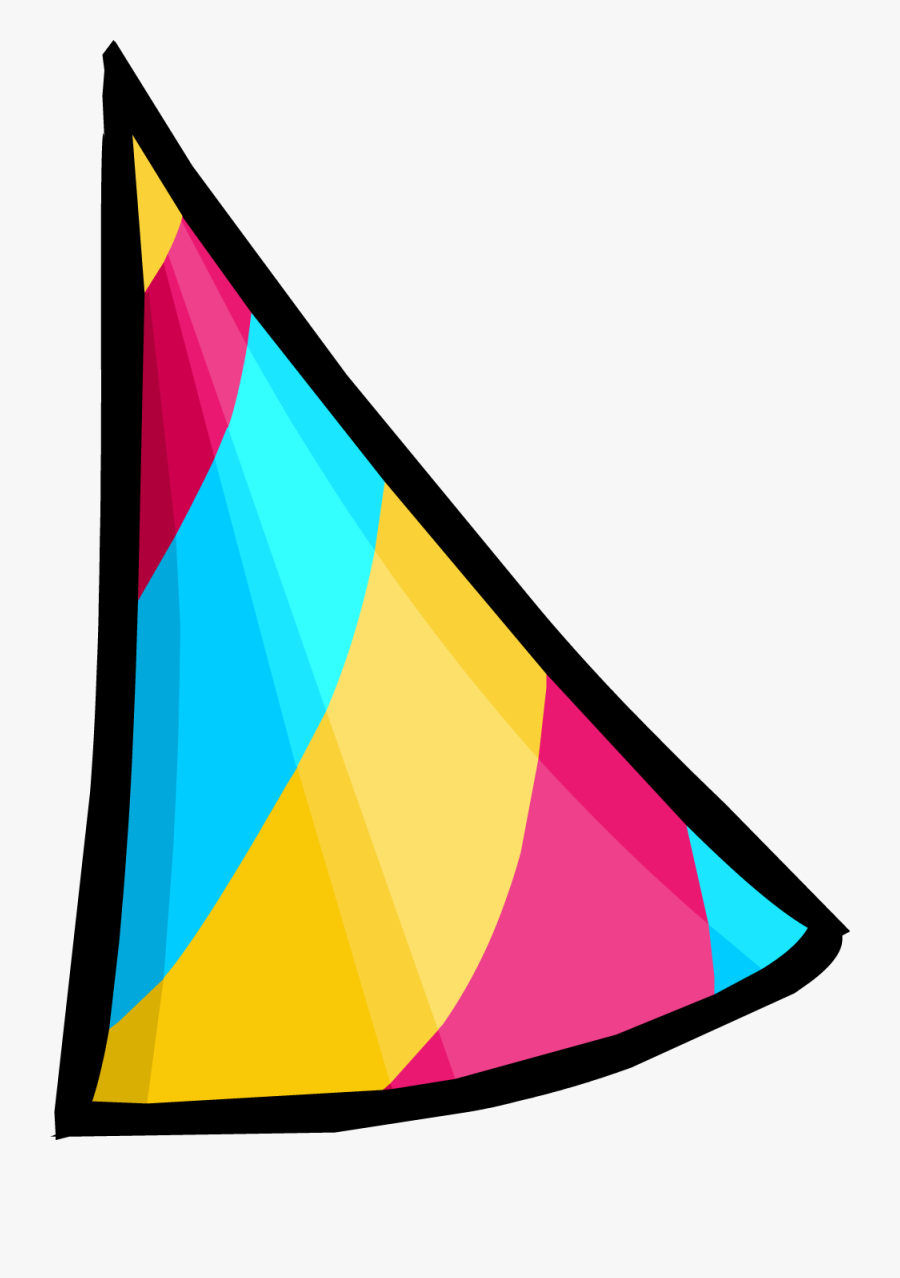 Snow Cone 3000 Party Hat Concept - Png Birthday Cone Hat, Transparent Clipart